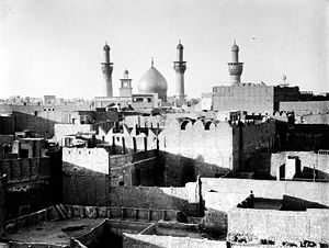 Imam Husayn Shrine - Imam Hussain's Mosque in 1932.