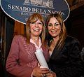 Karen Marón. Premio a la Mujer del Año en la categoría de Mujeres Líderes. Senado de la Nación Argentina.jpg