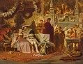 Karl Theodor von Piloty - Heinrich VIII. wirbt um Anna Boleyn auf dem Ball bei Kardinal Wolsey.jpg