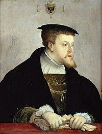 Kaiser KarlV., König von Spanien (Porträt von Christoph Amberger, um 1532) (Quelle: Wikimedia)