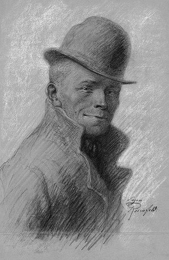 Karl Valentin - Image: Karl Valentin by Eugen Rosenfeld (1870 1940)