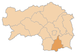 Bezirk Leibnitz location map