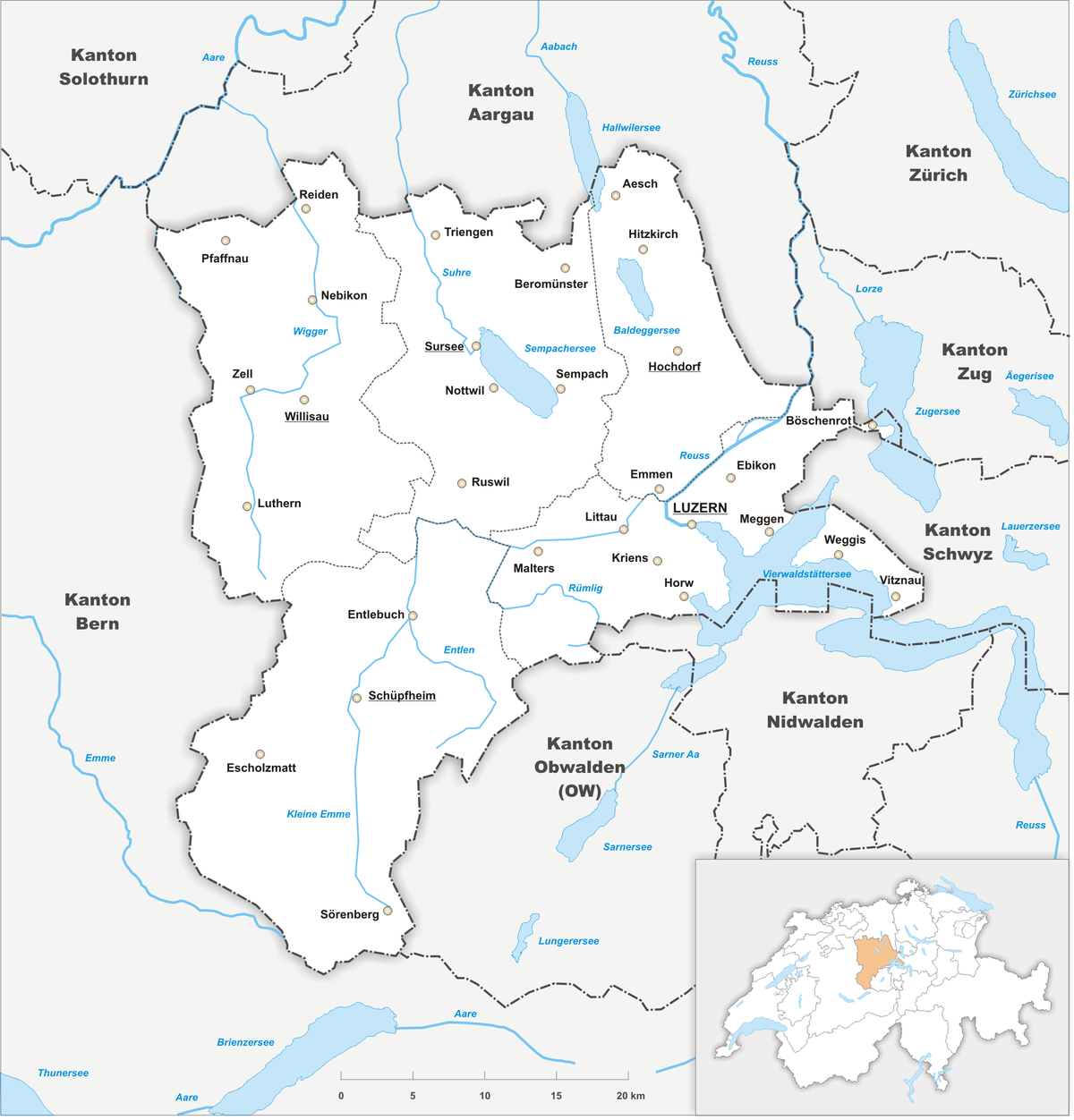 Canton of Lucerne Wikipedia