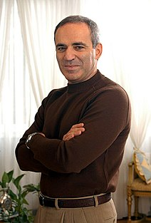 Garry Kasparov Russian chess player and activist