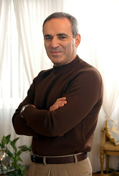 Picture of an author: Garry Kasparov