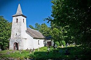 Hiiu County - Image: Kassari chapel 028