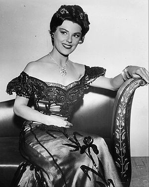 "Kathleen Crowley - Crowley as ""Kiz"" in Maverick (1960)"