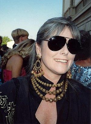 Kathleen Sullivan (journalist) - Sullivan on the red carpet at the 41st Primetime Emmy Awards in 1989