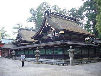 Katori Shrine - Image: Katori jinguu shrine honden,katori city,japan