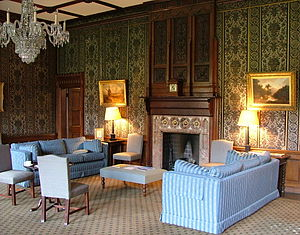 Common Room (university) - The Senior Common Room at Keble College, Oxford, England.