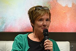 Kerstin Lundberg Hahn at Göteborg Book Fair 2018.jpg