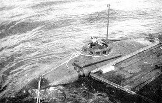 Semi-submersible naval vessel - Semi-submersible Imperial Russian Navy torpedo boat, Keta