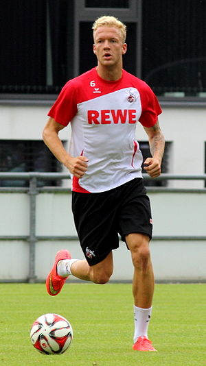 Kevin Vogt - Vogt with 1. FC Köln in 2014