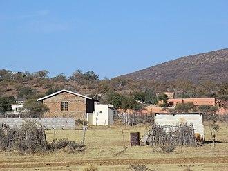 Kgomokasitwa - Image: Kgomokasitwa From the South