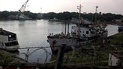 land locked harbour in india
