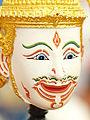 Khon Mask White God.JPG