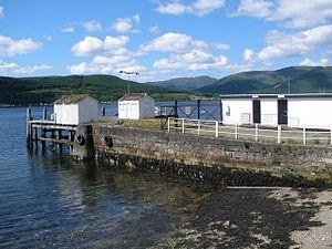 Kilmun - Image: Kilmun Pier geograph.org.uk 1353956