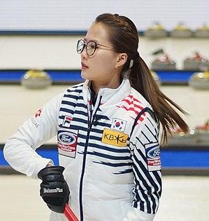 Kim Eun-jung (curler) South Korean curler