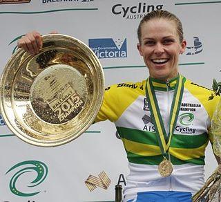 Kimberley Wells Australian bicycle racer