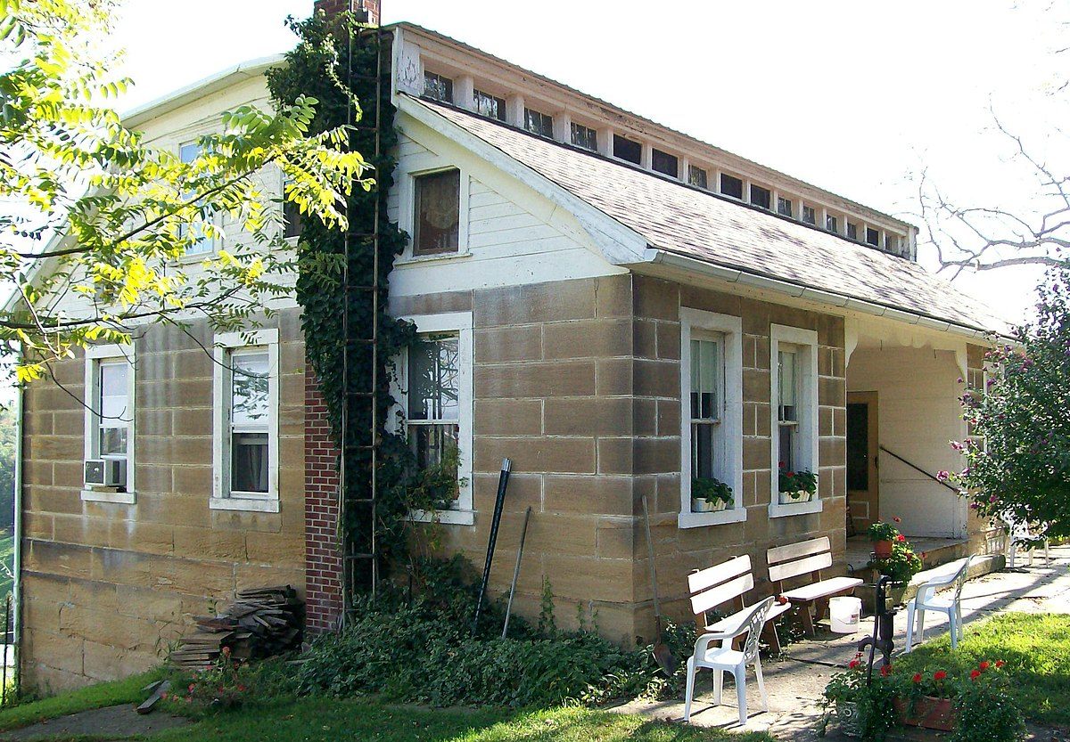 Frederick kindleberger stone house and barn wikipedia for Fredrick house