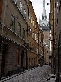 Kindstugatan mot Tyska kyrkan.jpg