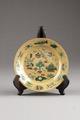 Kinesiskt porslins fat från 1662-1722 Kangxi-perioden - Hallwylska museet - 95677.tif