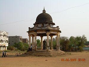 Jeypore - King's Statue, Surya Mahal