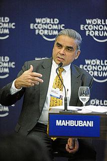 Kishore Mahbubani Singaporean diplomat