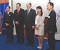 Kiyoshi Kurokawa David Warren John Roos Agnes Chan and Soon-Taik Hwang 20100525.jpg
