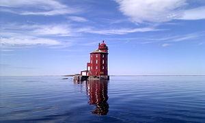 Kjeungskjær Lighthouse - View of the lighthouse