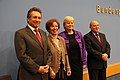 Klaus Ernst, Beate Klarsfeld, Gesine Lötzsch and Gregor Gysi (2012).jpg