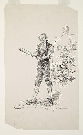 Doc Adams - Image: Knickerbocker practice