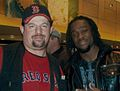 Kofi Kingston with Paul Billets.jpg