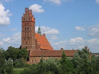 Dobre Miasto - Collegiate church of the Holy Saviour and All Saints in Dobre Miasto