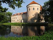 Koluvere castle from the north-west.