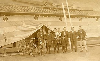 Kongo Gumi workers in early 20th century