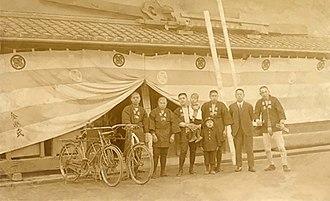 Kongō Gumi - Several Kongō Gumi workers, early 20th century