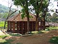 Konni Elephant Training Centre Cage03.jpg