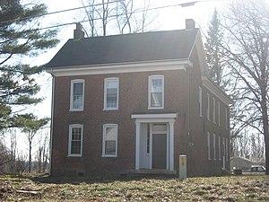 John F. and Malissa Koontz House - Koontz House, February 2013