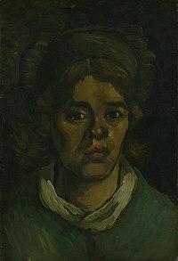 Kop van een vrouw - s0084V1962 - Van Gogh Museum.jpg