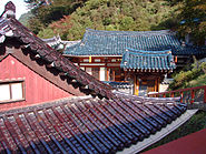 Korea-Danyang-Guinsa Hall Glazed Roof 2975-07
