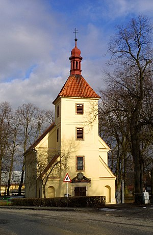 Saint Michael's church, Obora, Plzeň-North District