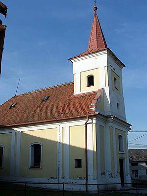 Biskupice (Prostějov District) - Saint Margaret Church