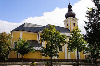Nemšová Town in Slovakia