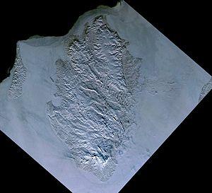 Kotelnyy island, Russia, Landsat-1 satellite image, 1973-03-21.jpg