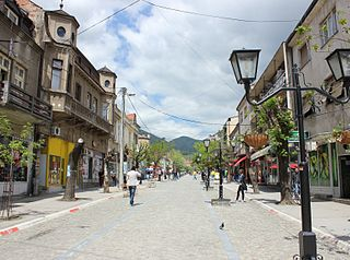 Vranje City in Southern and Eastern Serbia, Serbia