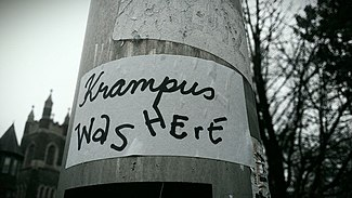 Krampus Was Here