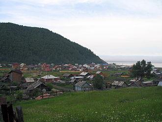 Listvyanka, Irkutsky District, Irkutsk Oblast - Image: Krestovka valley listvyanka