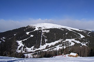 Kronplatz mountain in South Tyrol, Italy