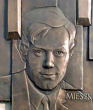 Krzysztof Komeda - Krzysztof Komeda, fragment of commemorative plaque in Poznań